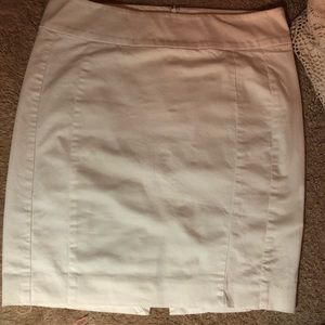 Pure White Pencil Skirt • Express